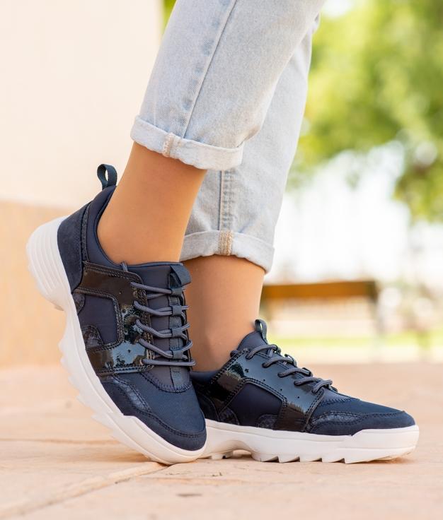 Sneakers Didet - Navy Blue