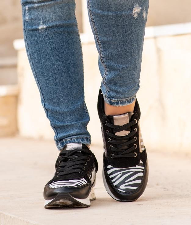 Sneakers Deop - Zèbre