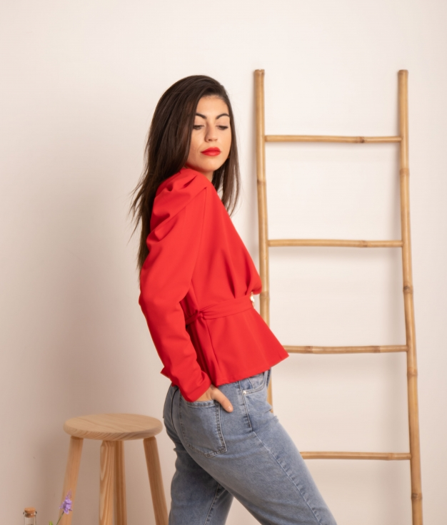 Blouse Expesty - Rojo