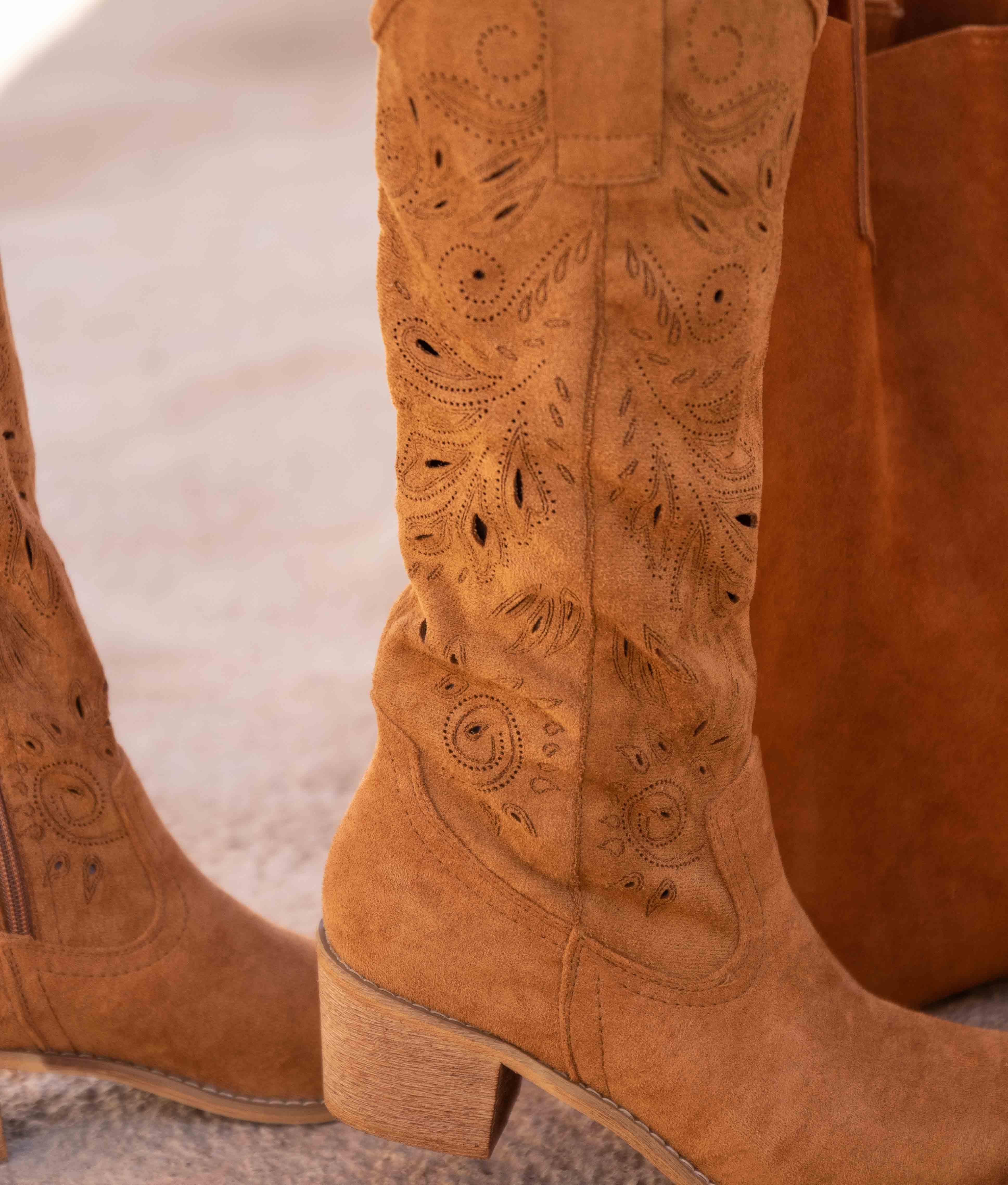 Knee-length Boot Erando - Camel