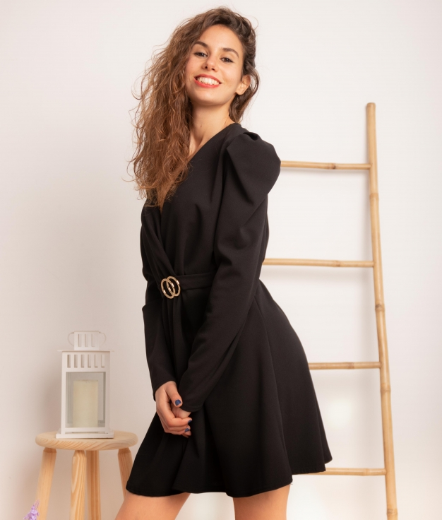 Vestido Georos - Preto