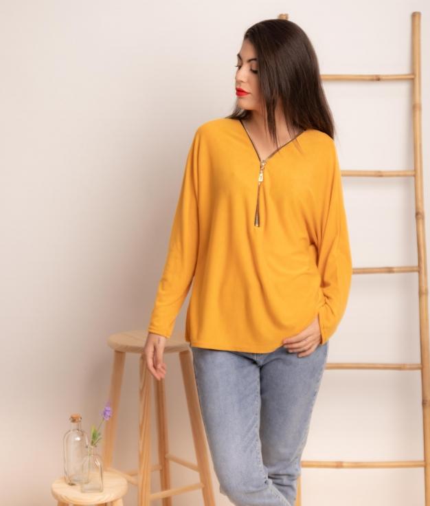 Blusa Gatigue - Amarillo