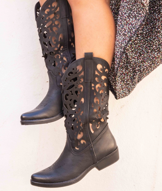 Knee-length Boot Marrie - Black