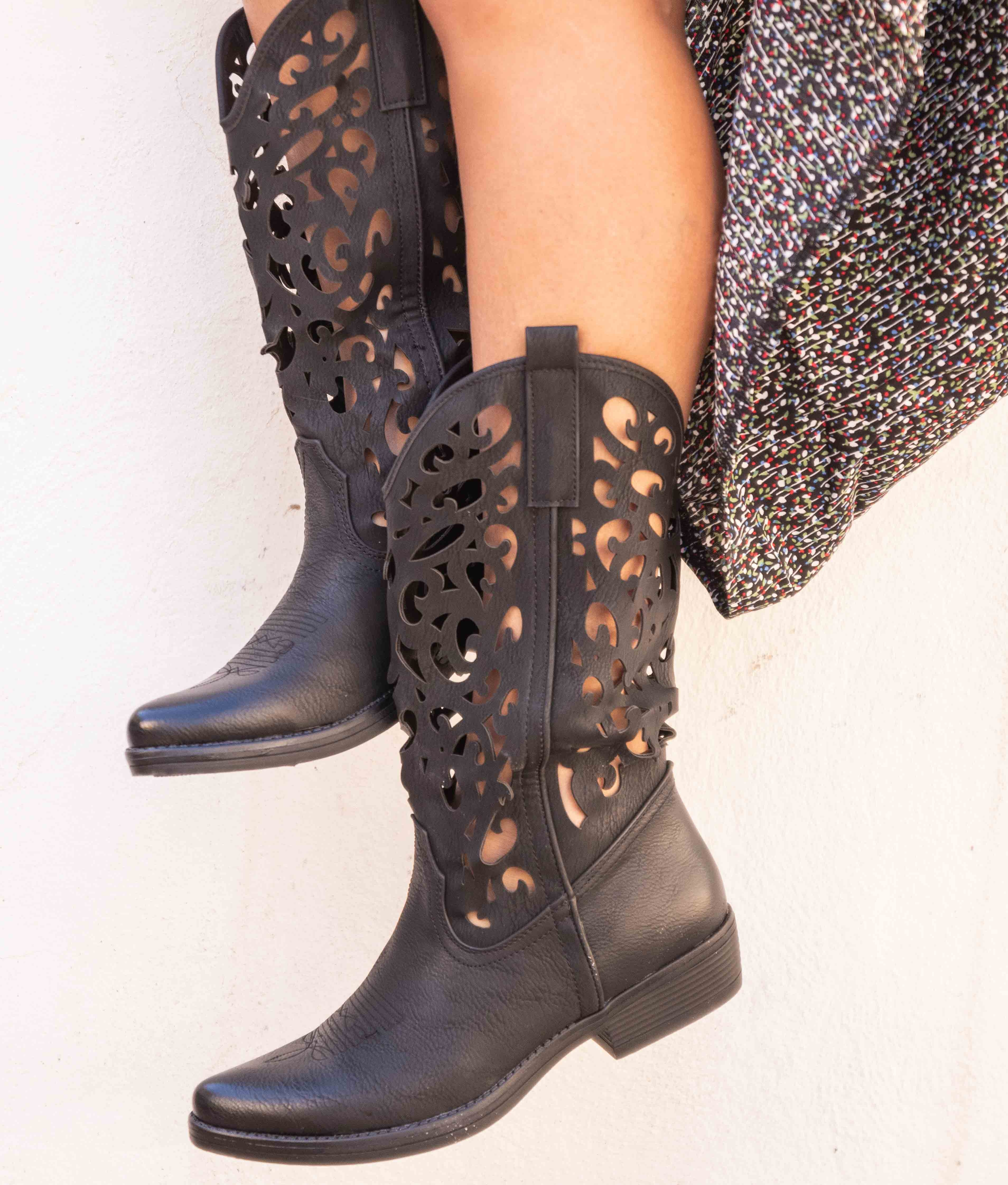 Knee-length Boot Marrie - Black