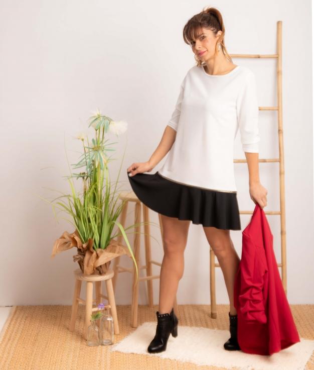 Vestido Benza - Bianco