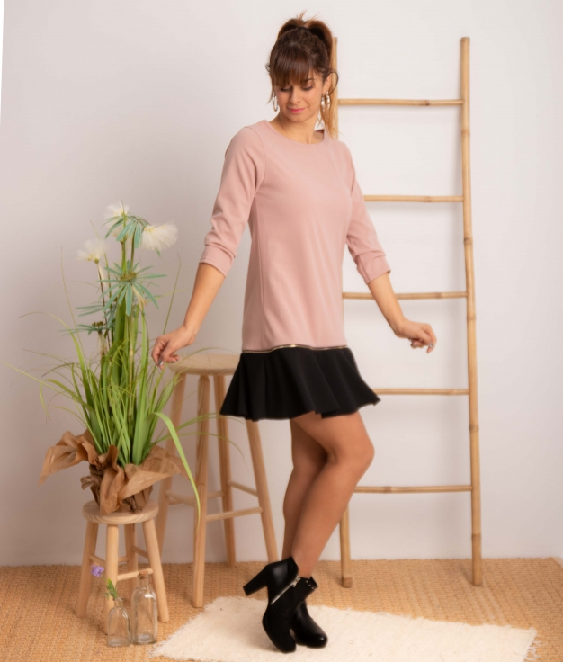 Vestido Benza - Rose