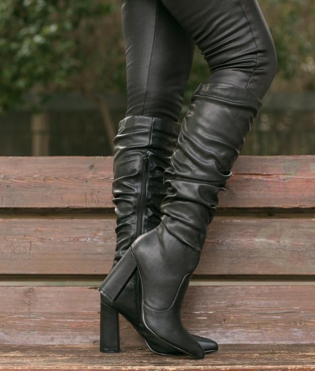 Knee-length Boot Creler - Black