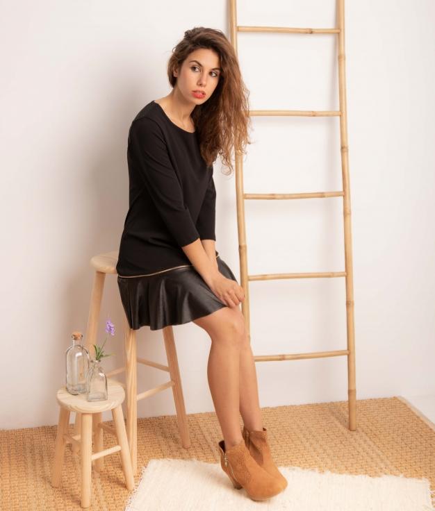 Vestido Benza - Negro