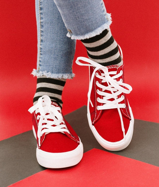 Sneakers Sampel - Rouge