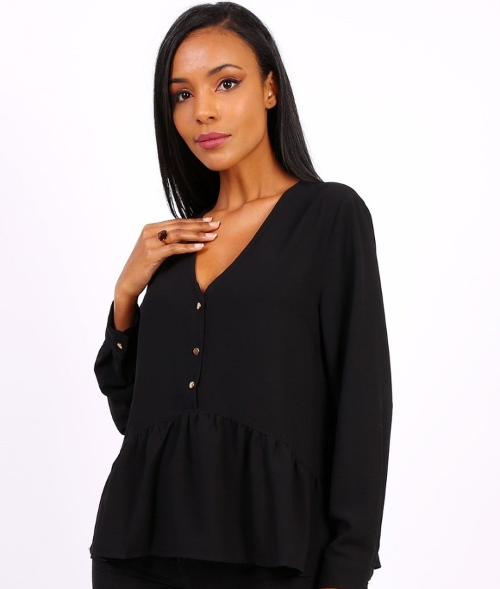 Blouse Justem - Black