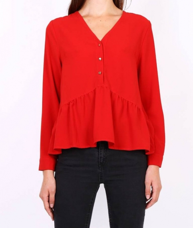 Blouse Justem - Red