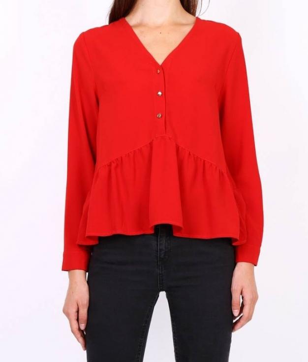 Blusa Justem - Rojo