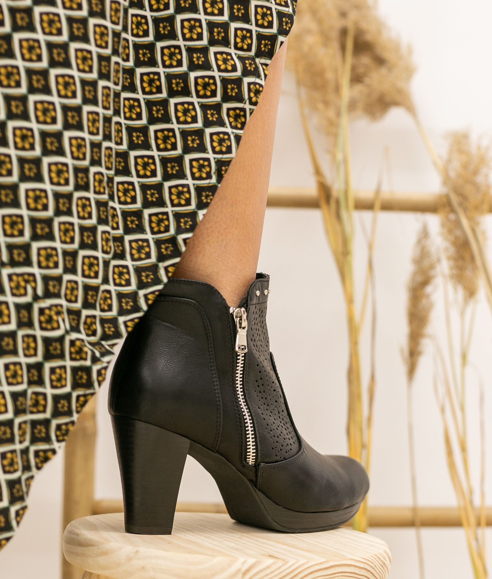 Low Boot Conere - Black