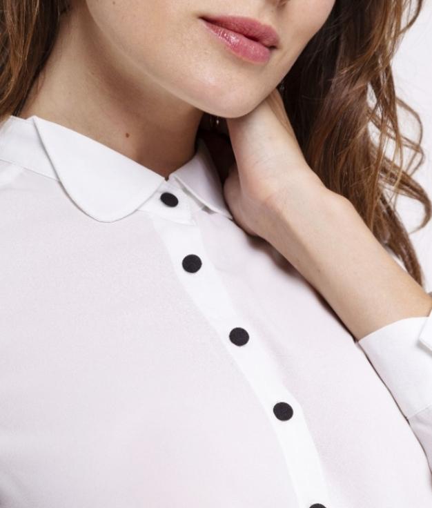 Camisa Mistole - Blanco