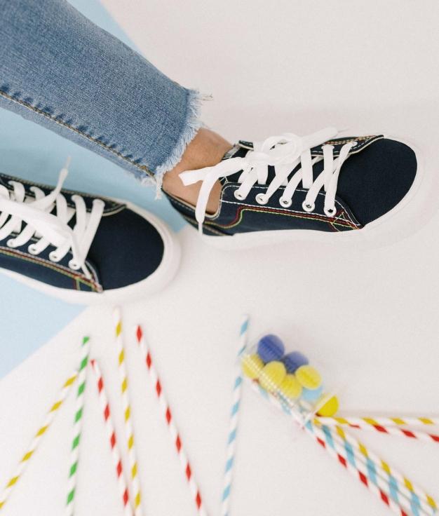 Sneakers Sampel - Denim