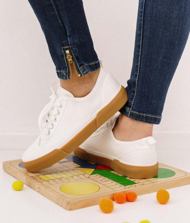 Sneakers Kineli - Blanc