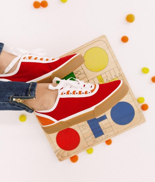 Sneakers Kineli - Rouge