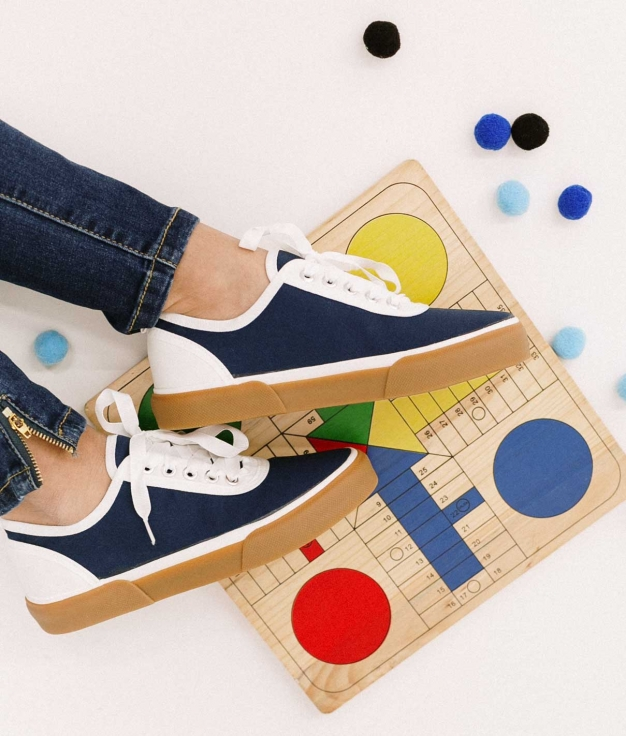 Sneakers Kineli - Bleu Marine
