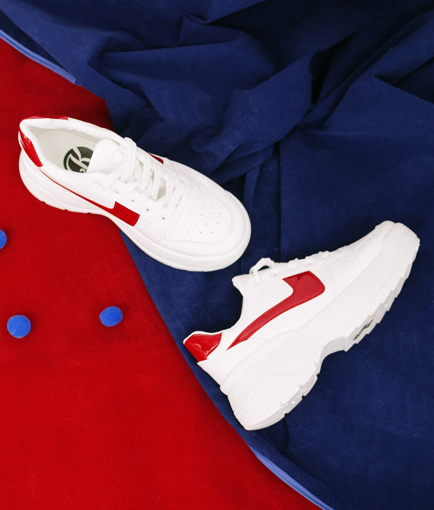 Sneakers Chilen - Rouge