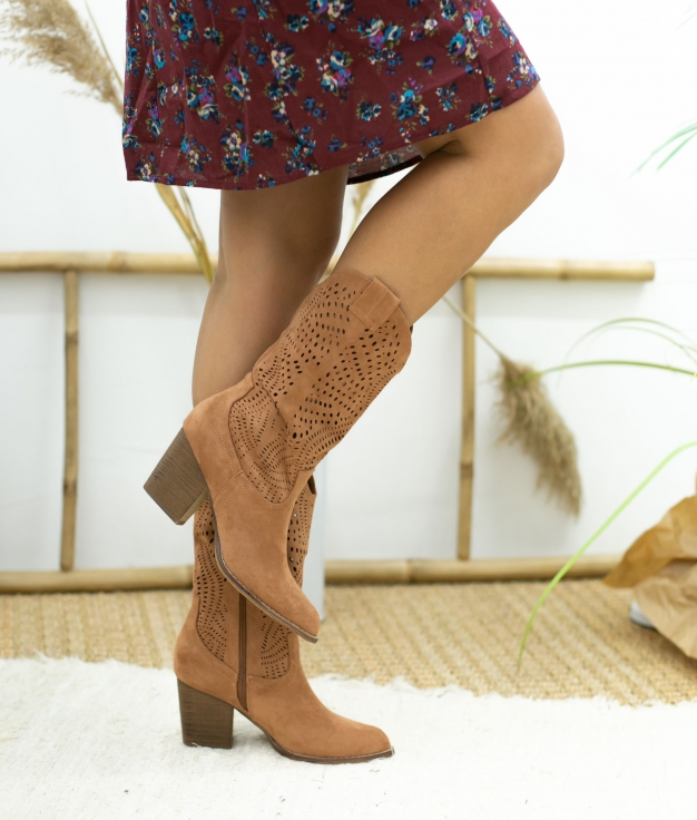 Knee-length Boot Bolane - Orange