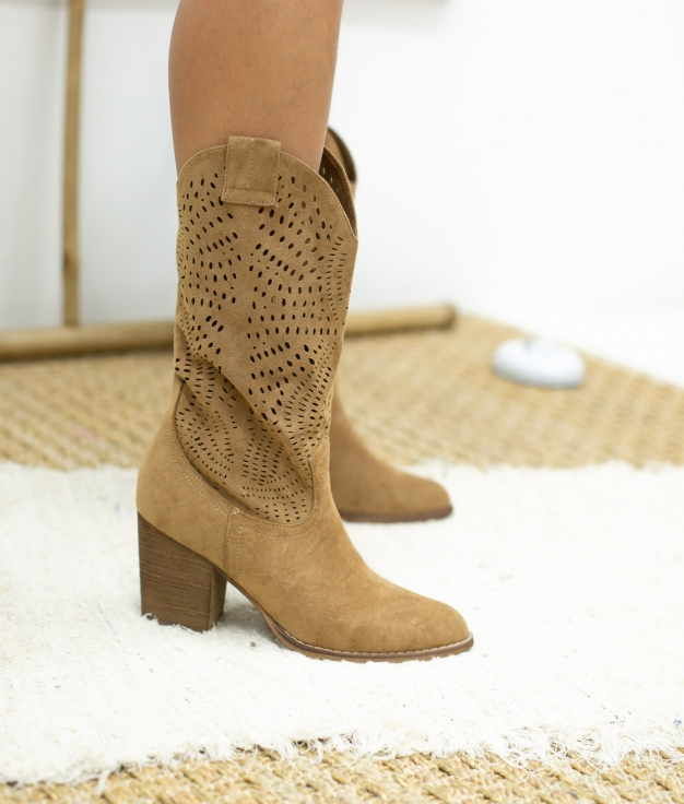 Knee-length Boot Bolane - Camel