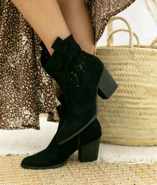 Boot Petite Manvar - Noir