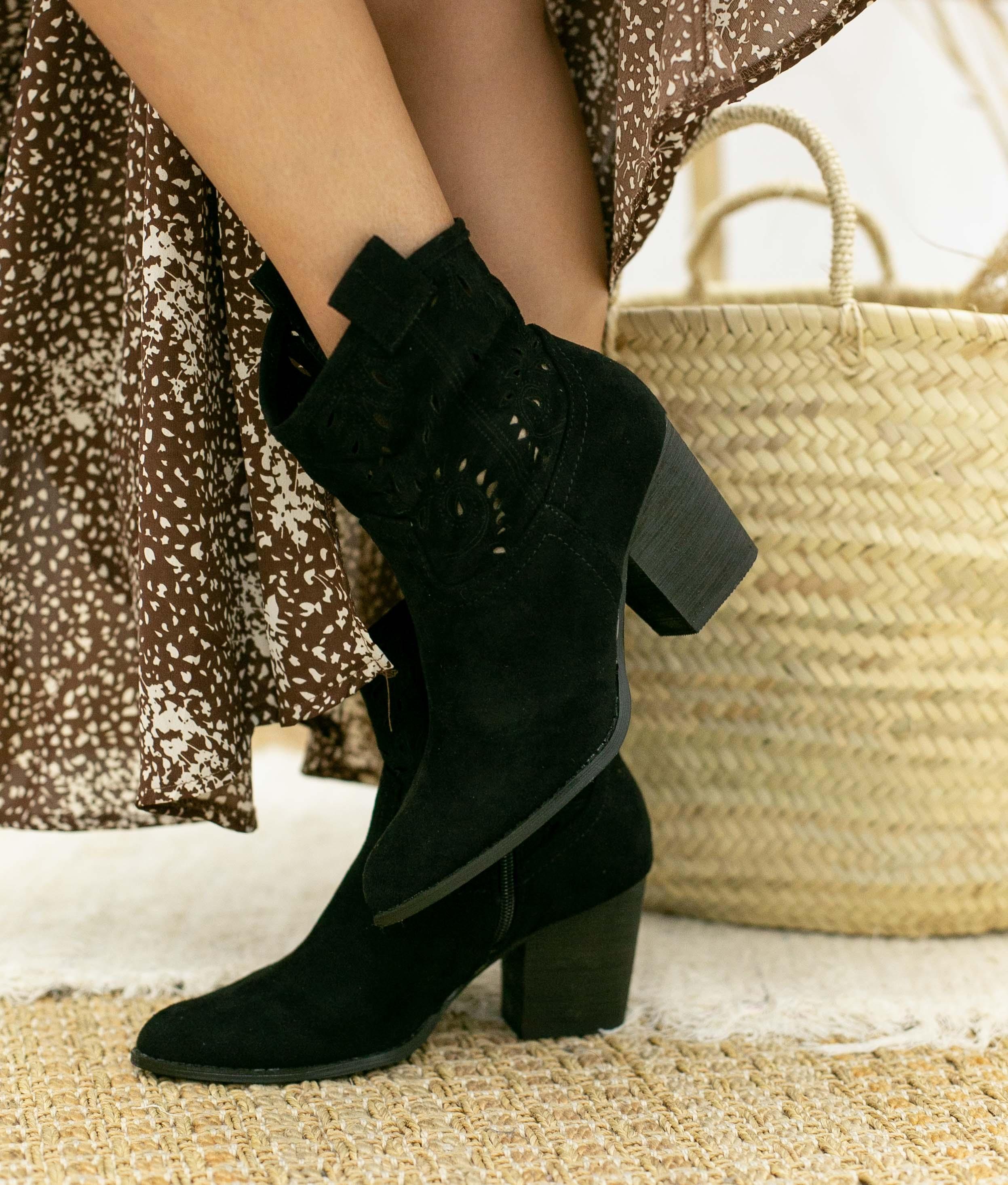 Low Boot Manvar - Black