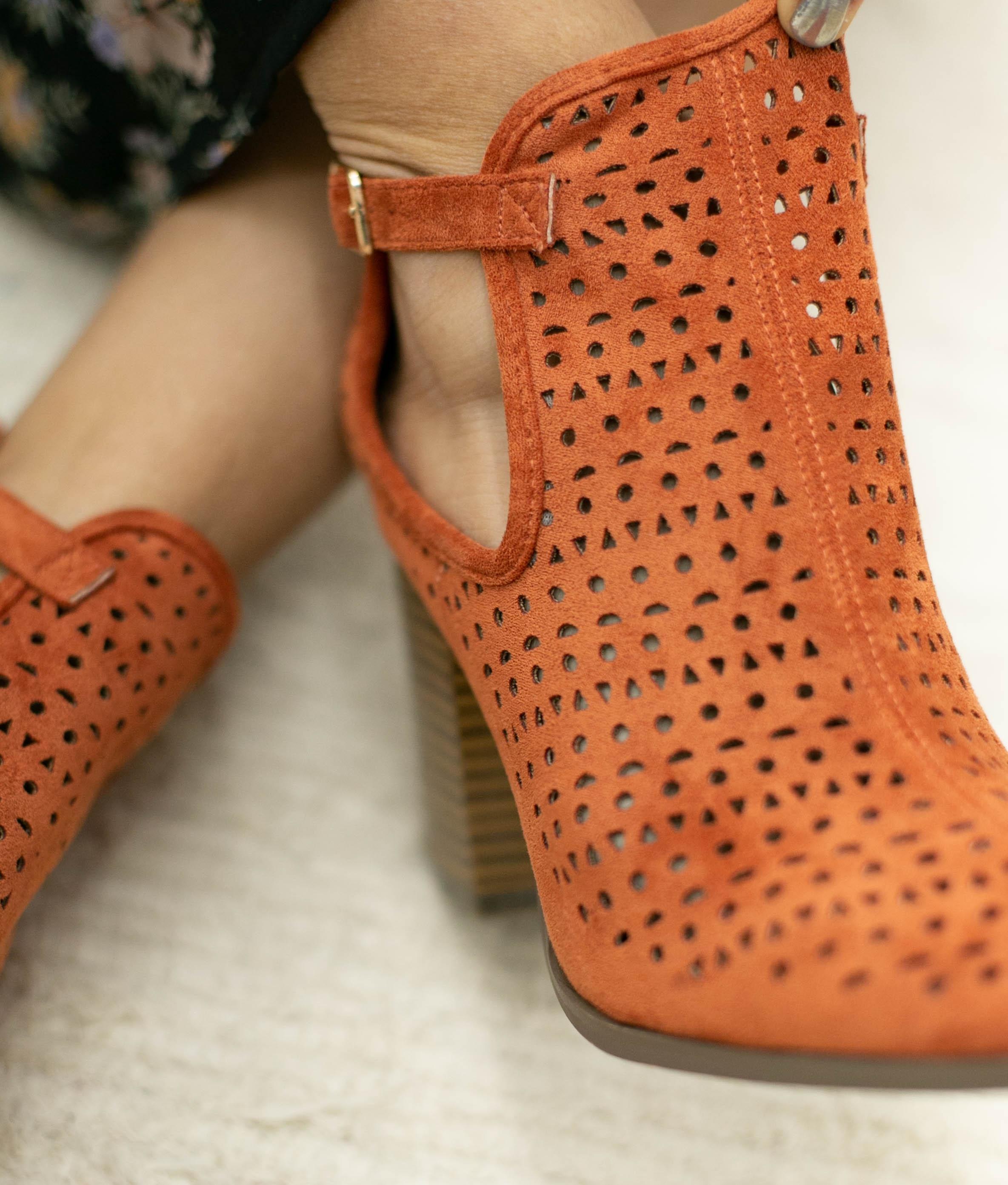 Knee-length Boot Figus - Orange