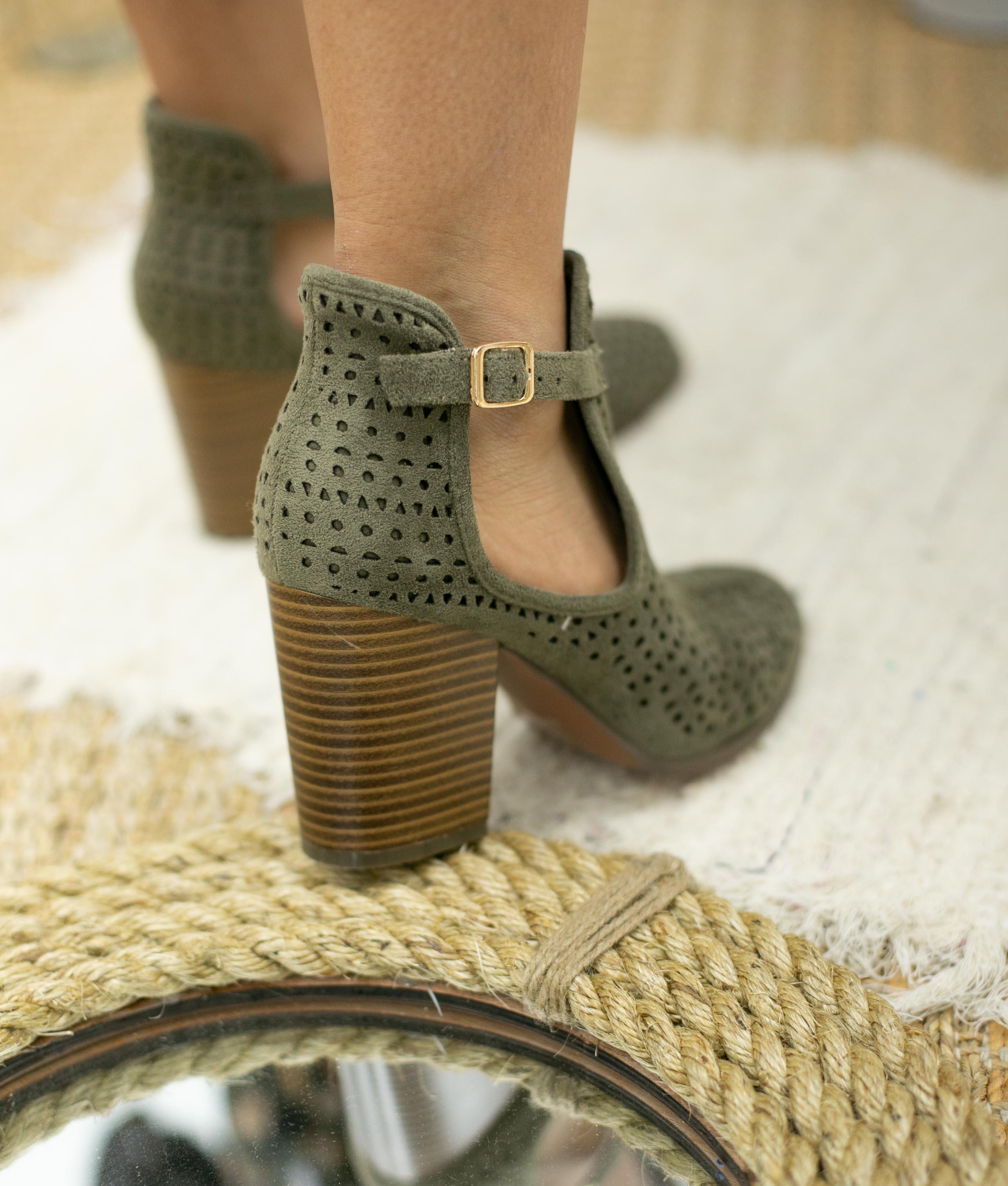 Knee-length Boot Figus - Green