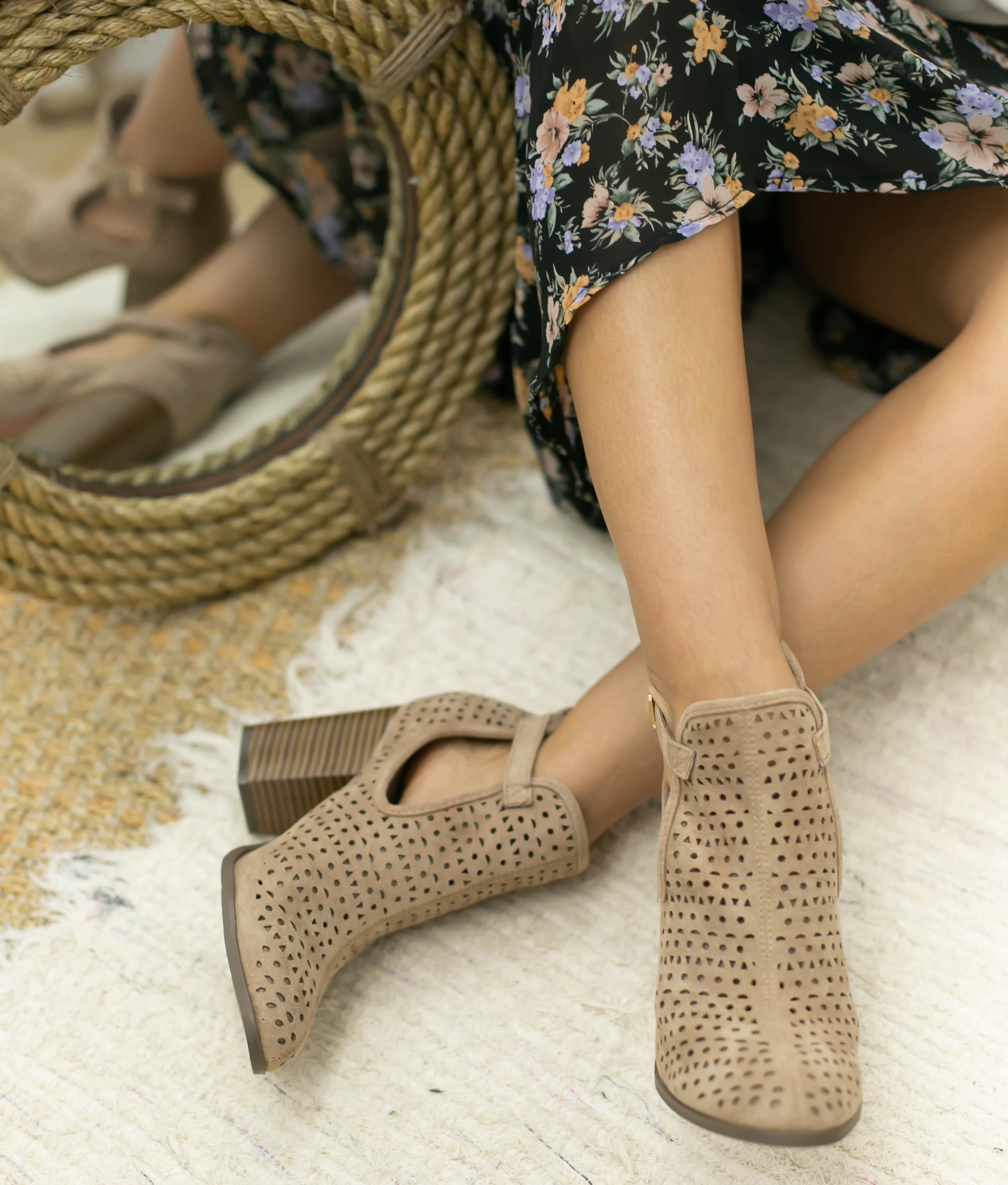 Knee-length Boot Figus - Beige