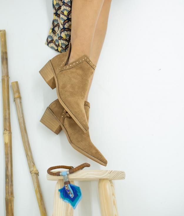 Low Boot Nuren - Camel