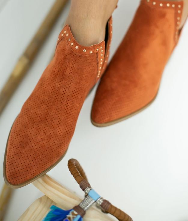 Low Boot Nuren - Orange