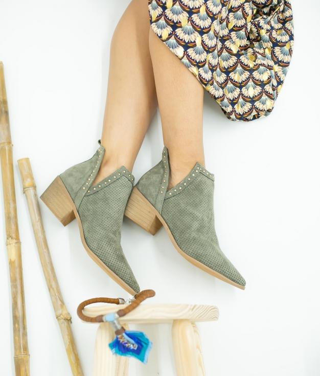 Low Boot Nuren - Green