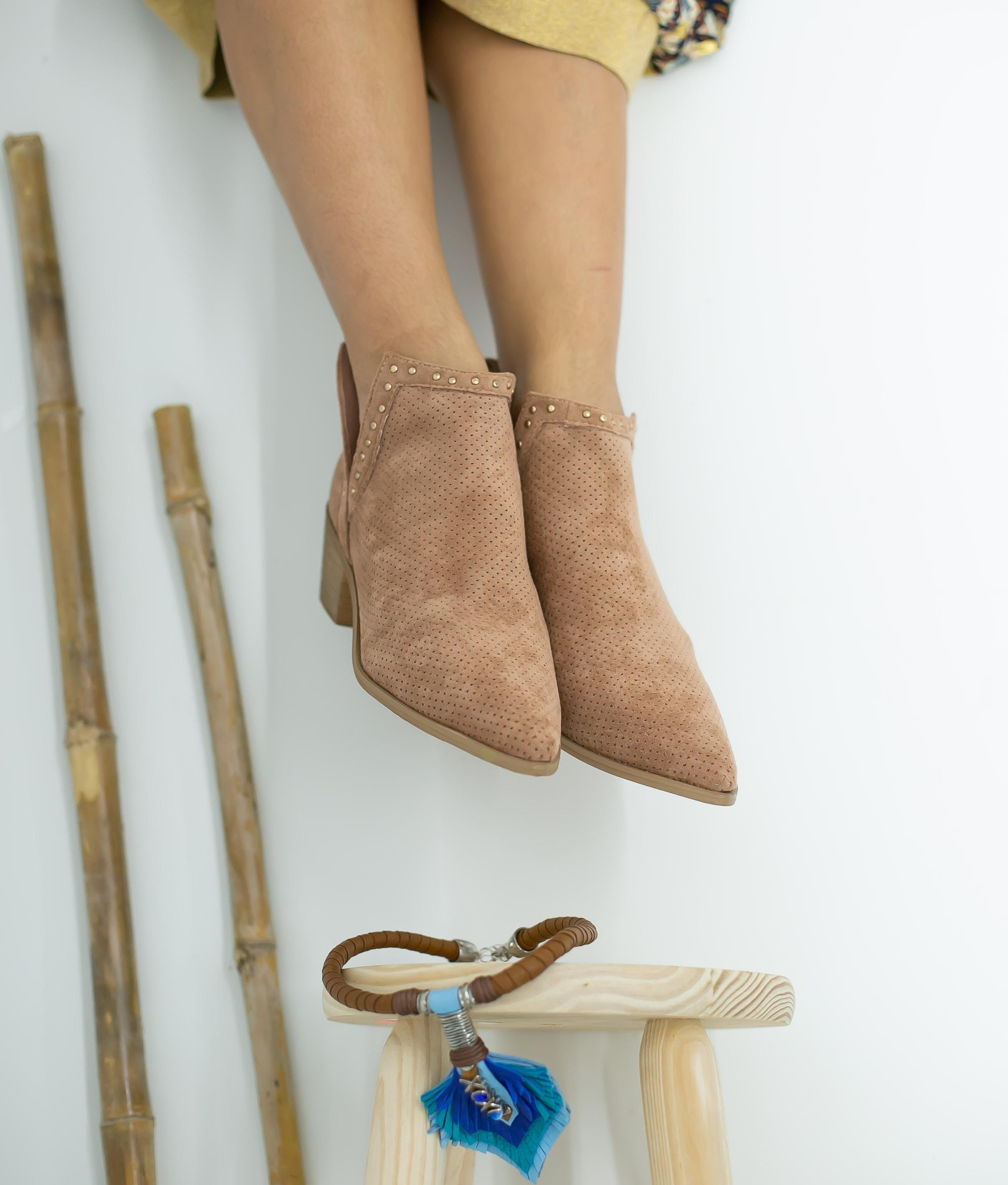 Low Boot Nuren - Pink