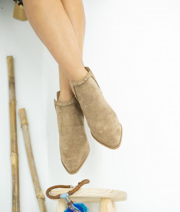 Low Boot Nuren - Beige