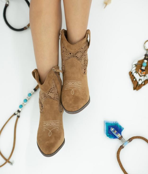 Low Boot Samal - Camel