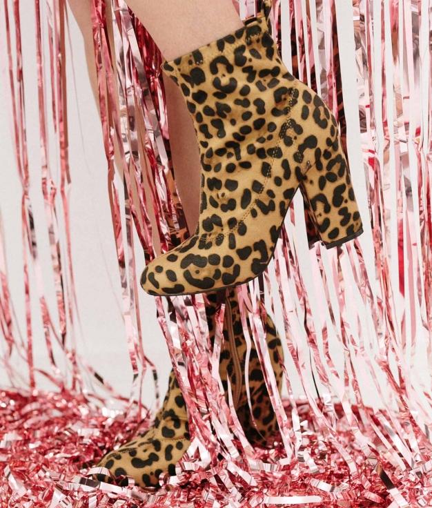 Bota Baja Turuna - Leopardo