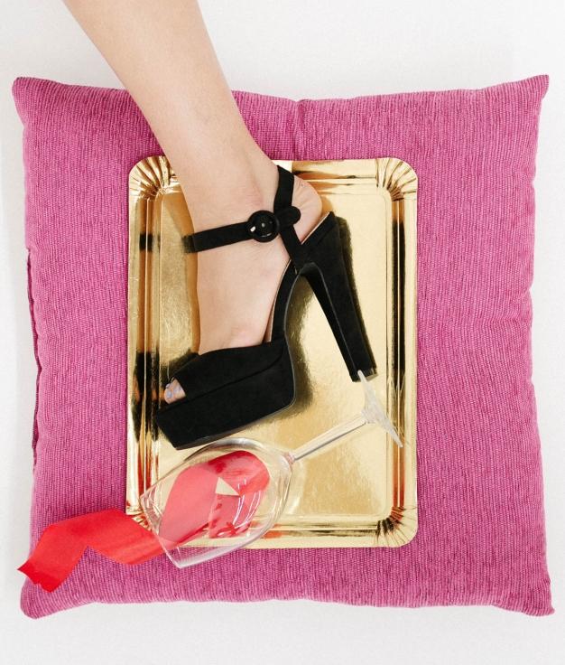 High Sandal Benu - Black