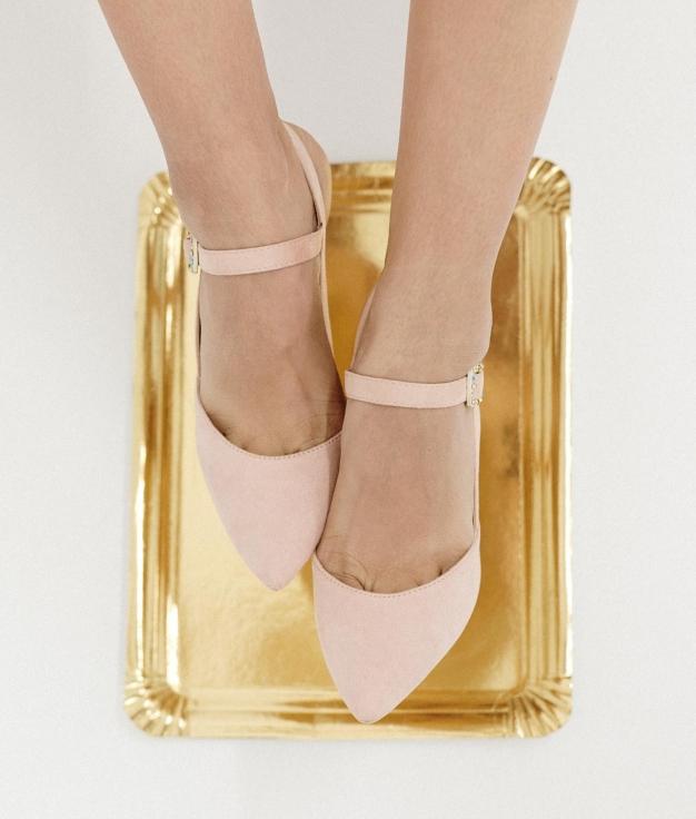 Zapato de Tacón Wana - Rosa