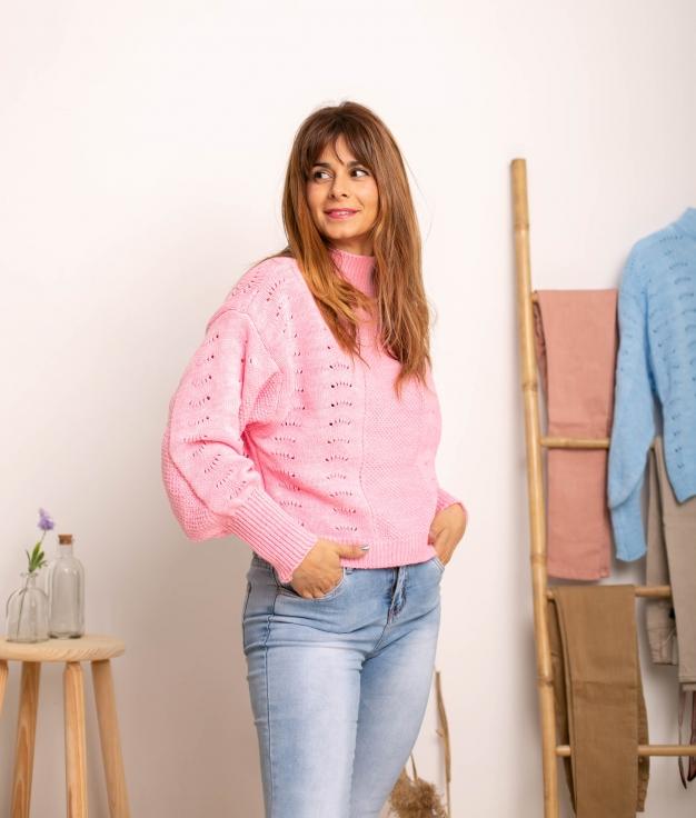 Sweater Jalulu - Pink