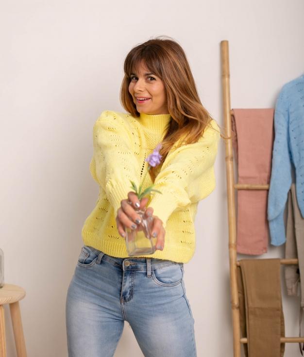 Sweater Jalulu - Yellow