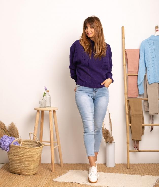 Sweater Jalulu - Purple