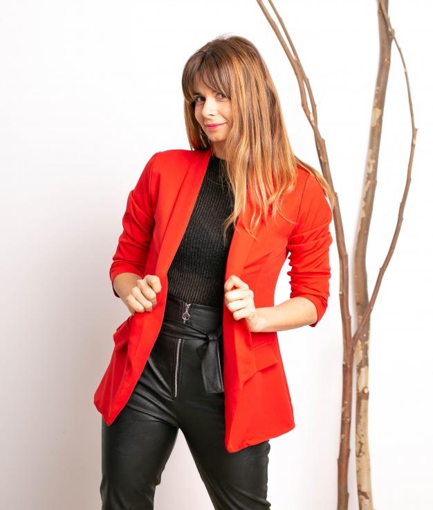 Blazer Itxi - Rojo
