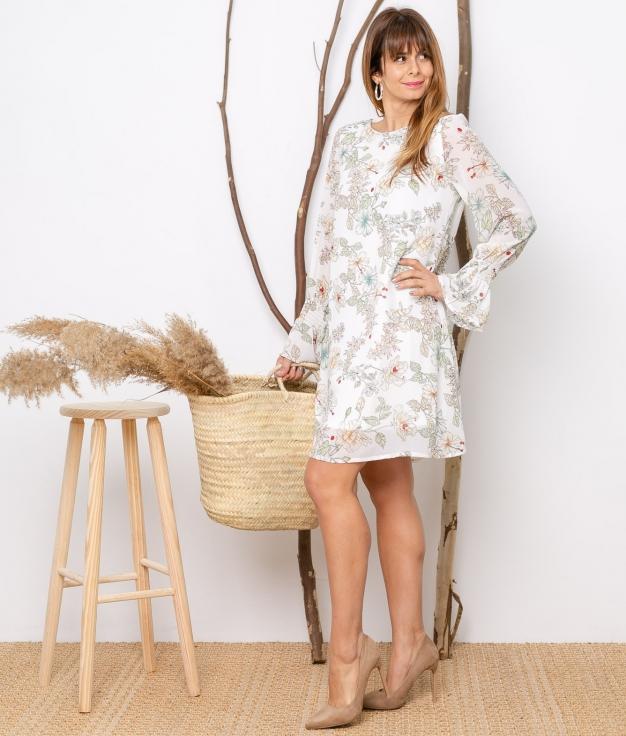 Vestido Zapiber - Bianco