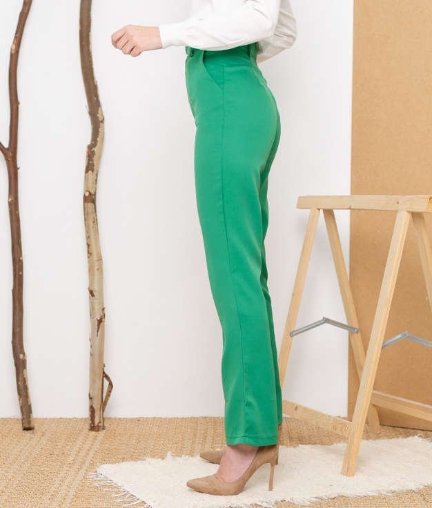 Pantalón Kine - Verde