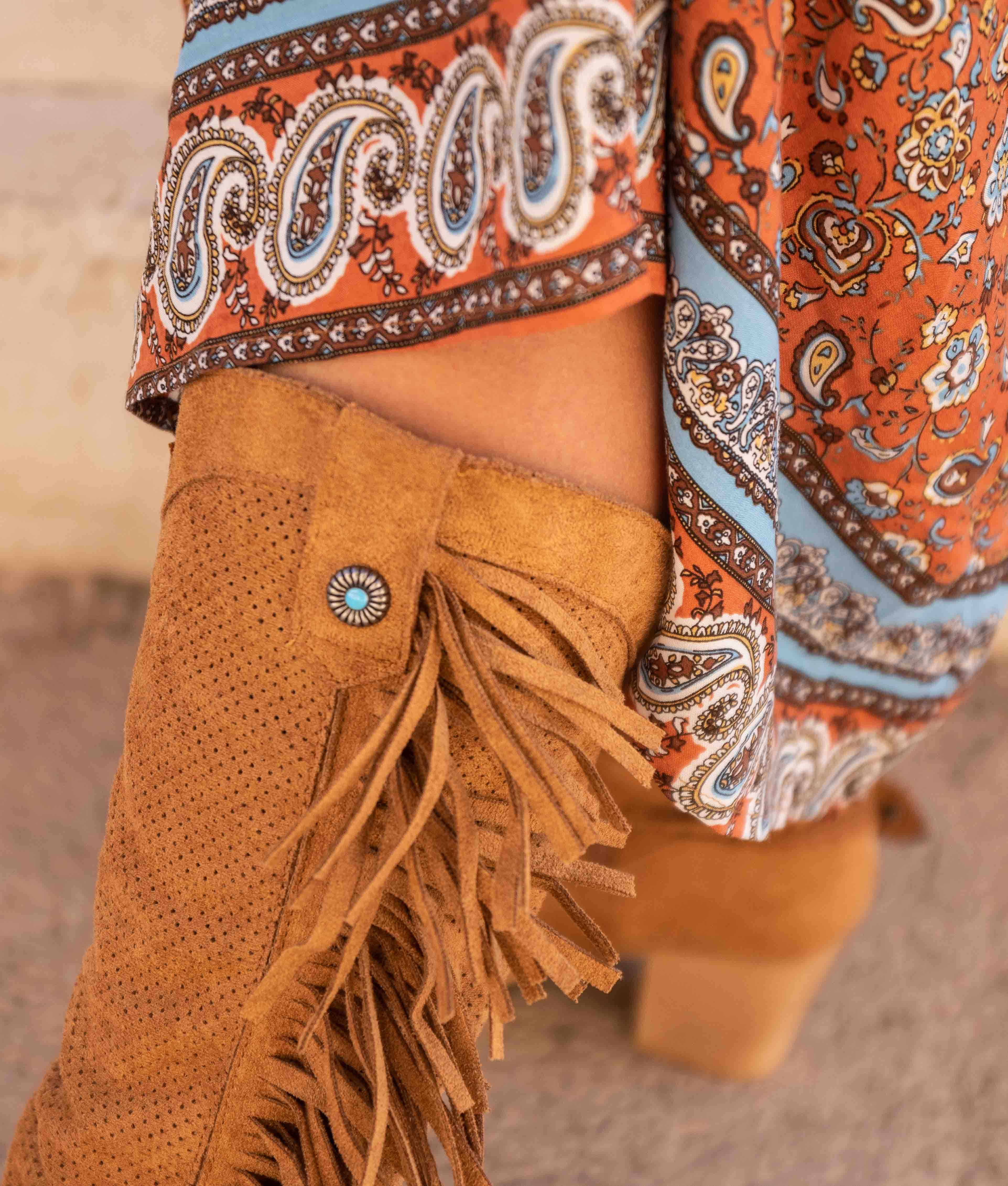 Knee-length Boot Reson - Camel