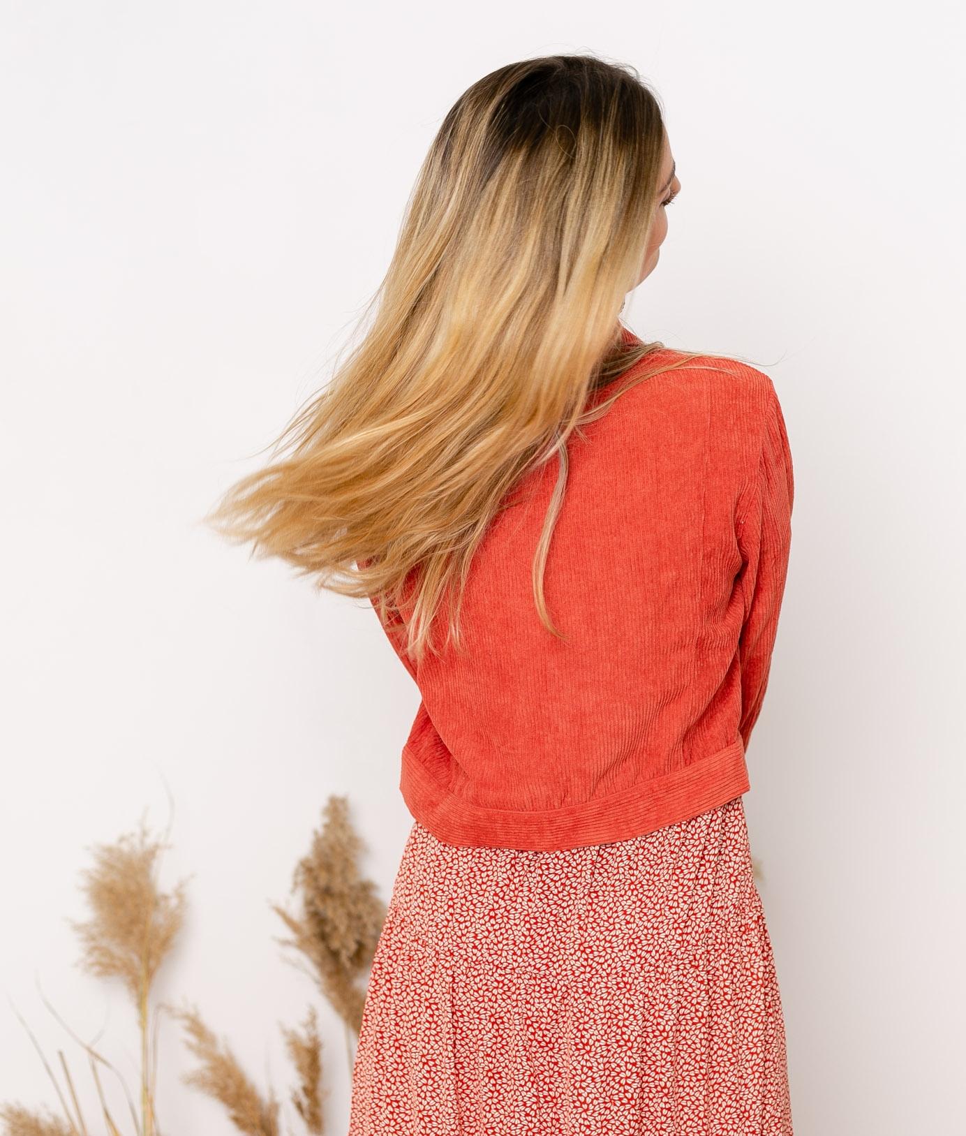 Chaqueta Lafa - Brick Red