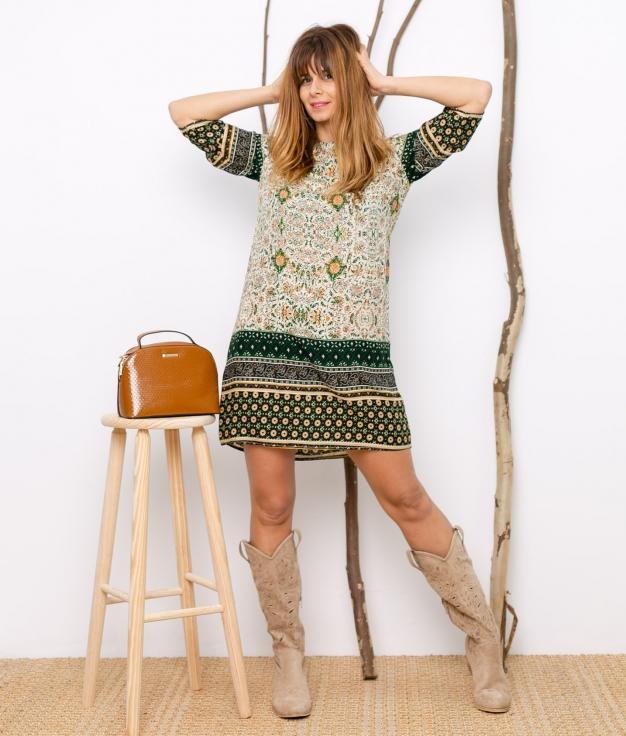 Dress Garmedi - Green