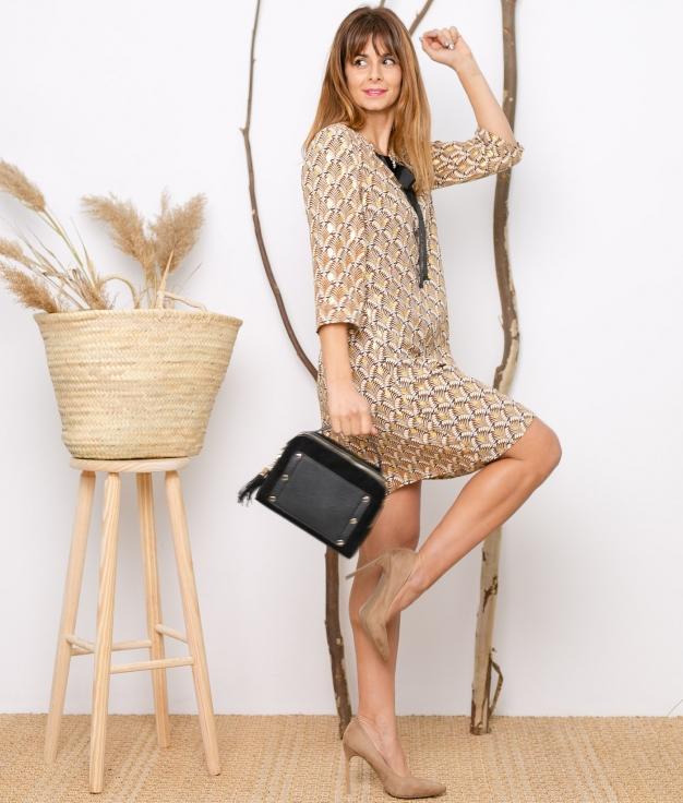 Dress Azkibar - Golden