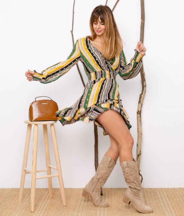 Vestido Bredor - Multicolorido